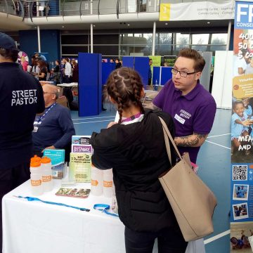 Freshers fair at Southend University