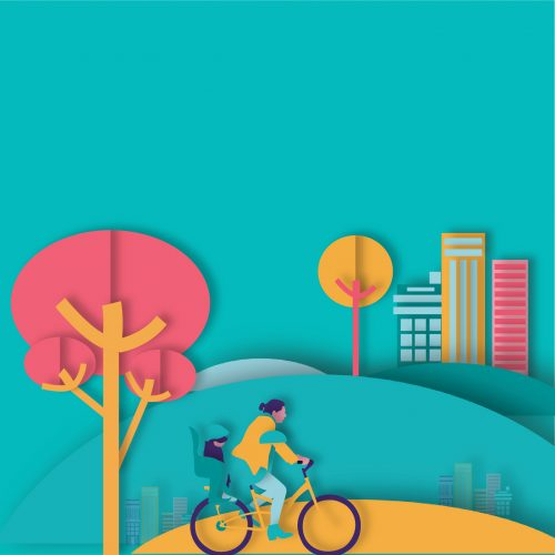 Homepage illustration cycling