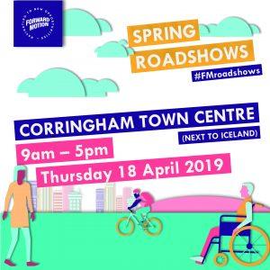 ForwardMotion roadshow Corringham advert